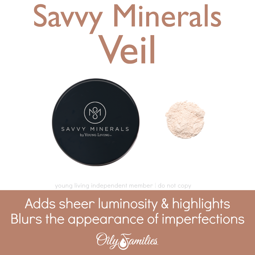 Savvy-Minerals-Veil Savvy Minerals Young Living Make Up Oily Families