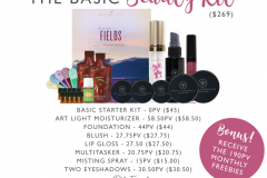 Basic Beauty Kit Savvy Minerals Young Living Make Up Oily Families