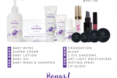 Mommy & Me Essential Rewards Bundle Savvy Minerals Young Living Make Up Oily Families