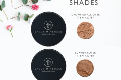 Savvy-Minerals-Bronzer-Shades Savvy Minerals Young Living Make Up Oily Families