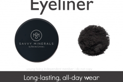Savvy-Minerals-Eyeliner Savvy Minerals Young Living Make Up Oily Families