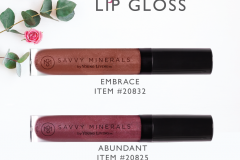 Savvy-Minerals-Lip-Gloss-Colors Savvy Minerals Young Living Make Up Oily Families