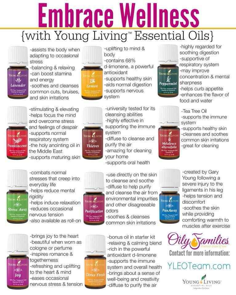 Embrace Wellness #OilyFamilies @YLEOTeam Essential Oils