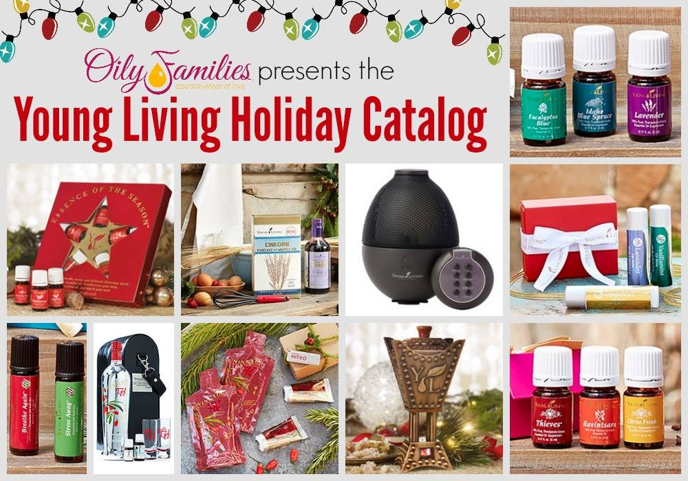 Young Living Holiday Catalog 2014 #OilyFamilies