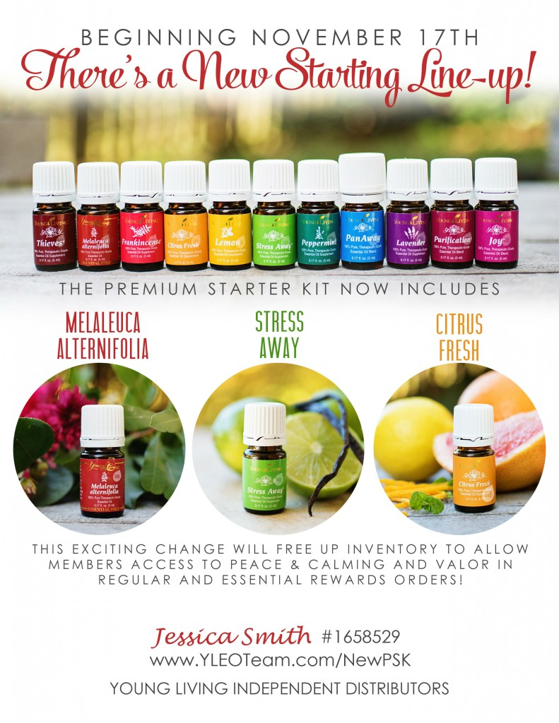 November New Premium Starter Kit Young Living YLEOTeam