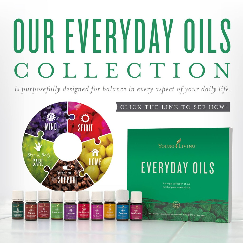 Everyday Oils Collection YLEOTeam #oilyfamilies