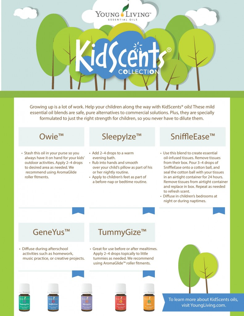 KidScents Collection - Oils for Kids - YLEOTeam #oilyfamilies