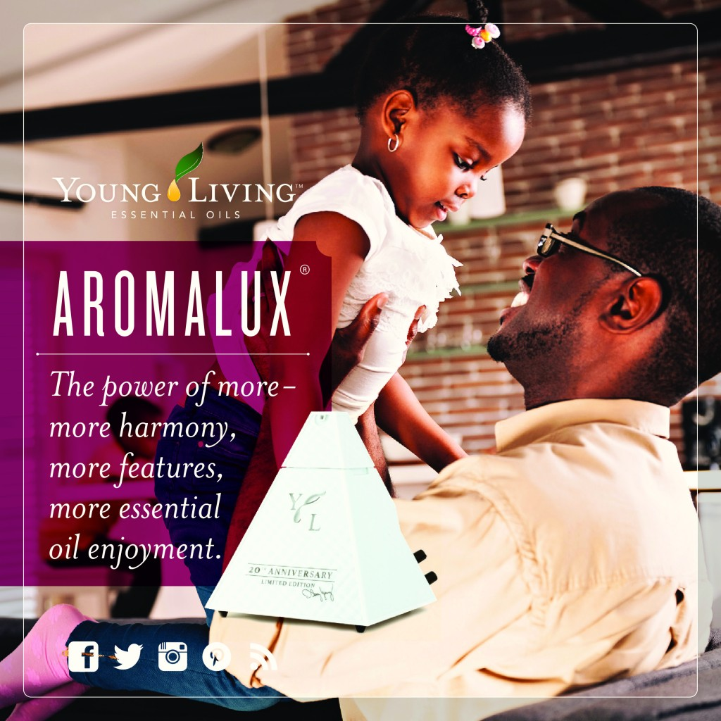 Young Living AromaLux Diffuser YLEOTeam #oilyfamilies