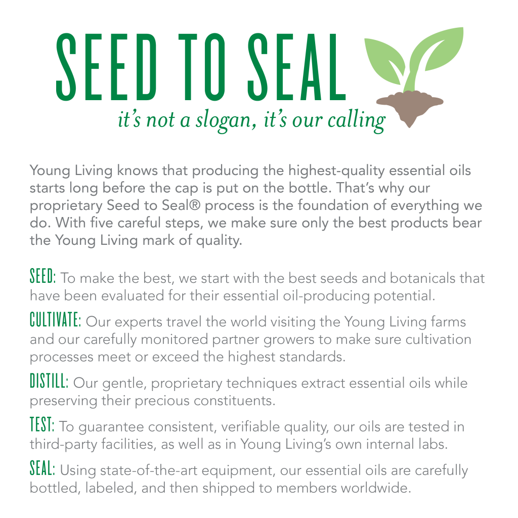 Young Living Seed To Seal Promise YLEOTeam #oilyfamilies