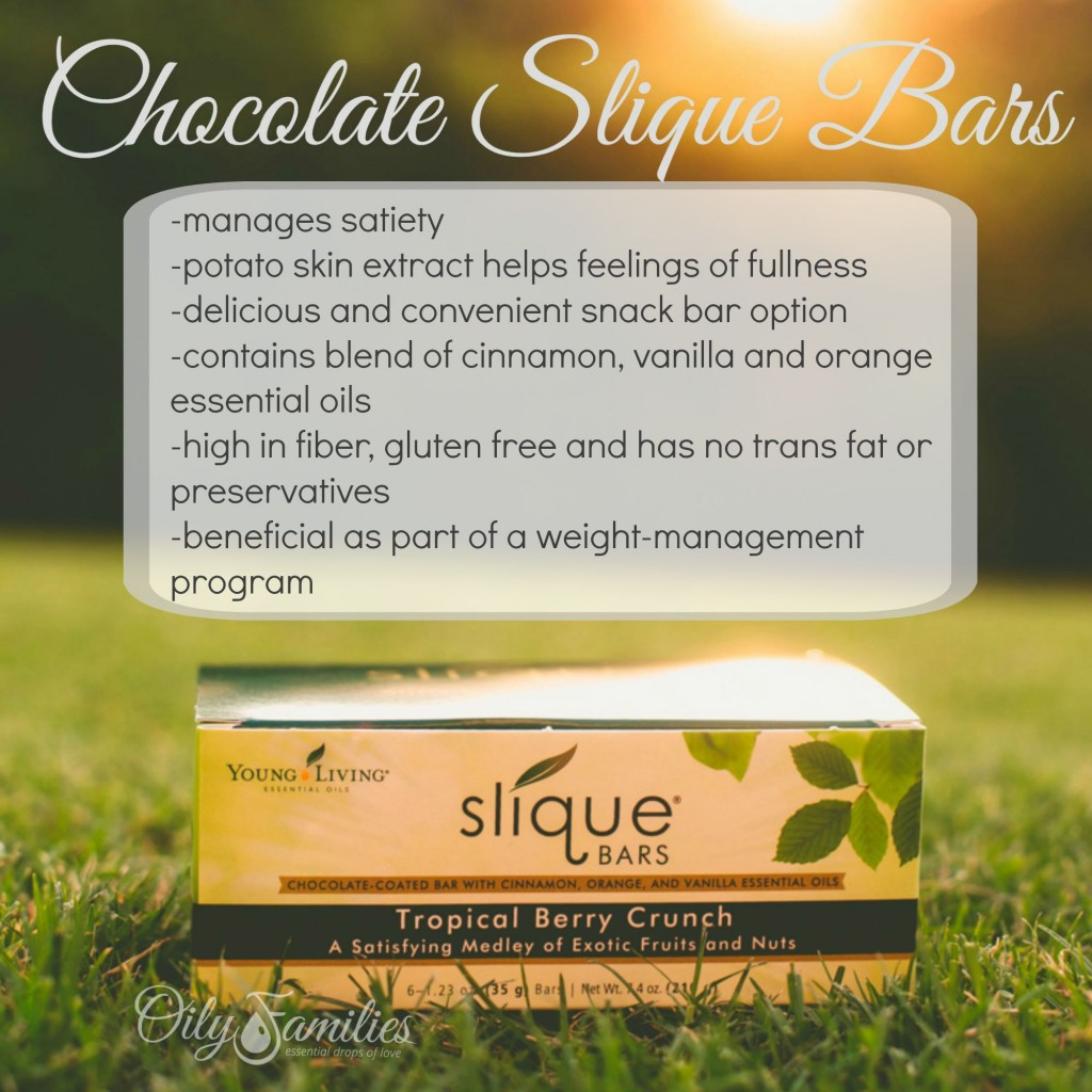 Chocolate Slique Bars New Young Living Products from Convention - Oily Families YLEO Team