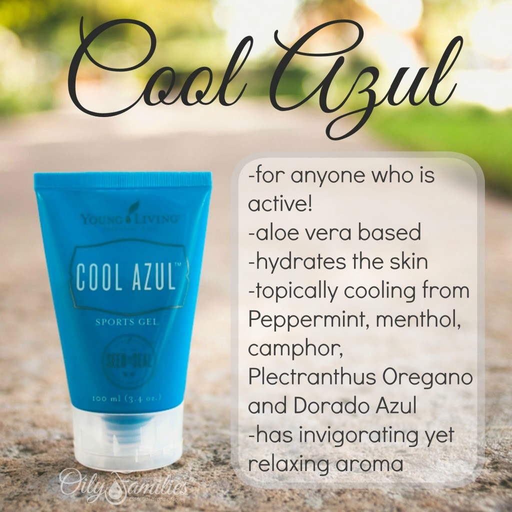 Cool Azul Sports Gel New Young Living Products from Convention - Oily Families YLEO Team