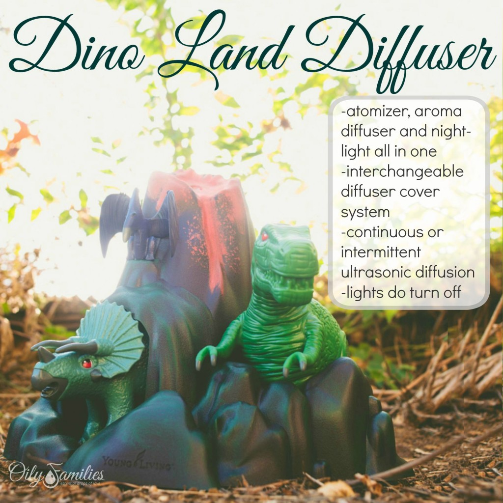 Dino Land Diffuser + New Young Living Products from Convention + Oily Families YLEO Team