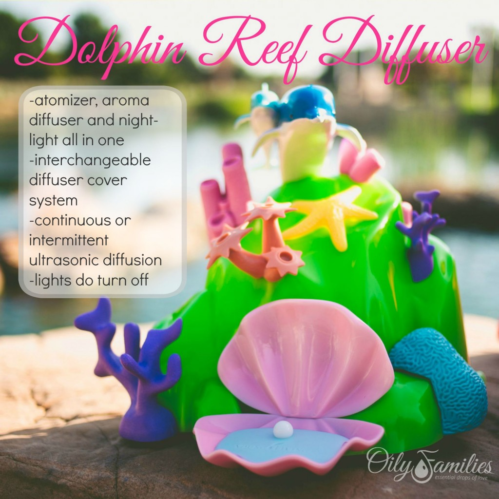 Dolphin Reef Diffuser + New Young Living Products from Convention + Oily Families YLEO Team