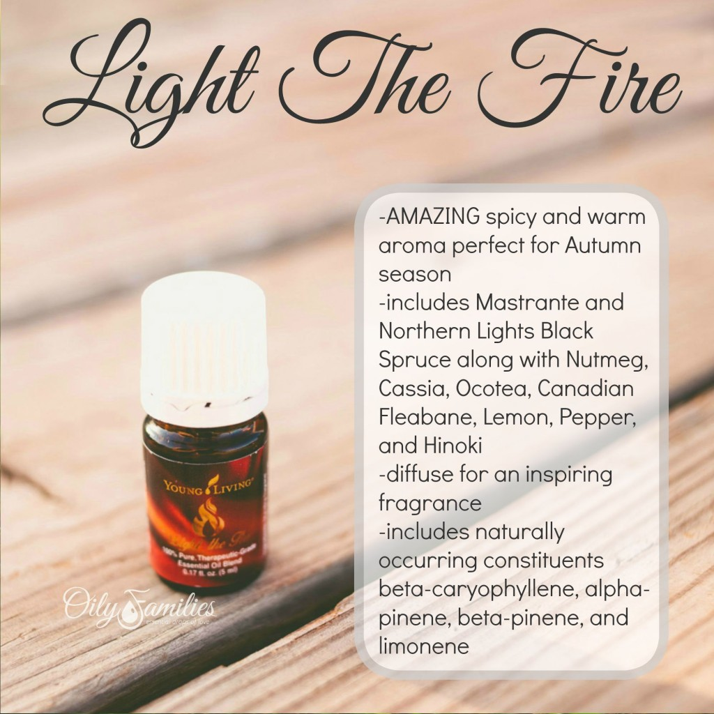 Light The Fire Essential Oil Blend + New Young Living Products from Convention + Oily Families YLEO Team