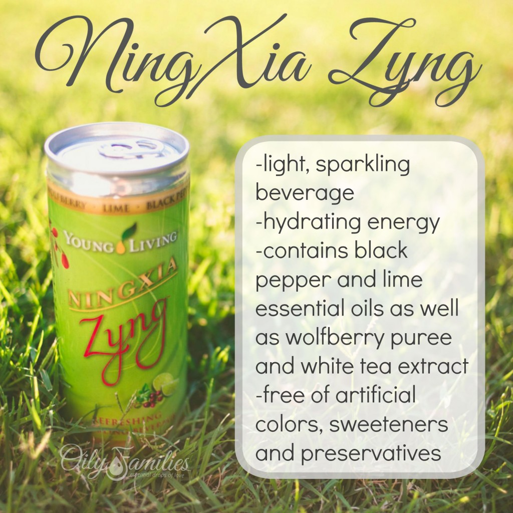 NingXia Zyng Drink + New Young Living Products from Convention + Oily Families YLEO Team