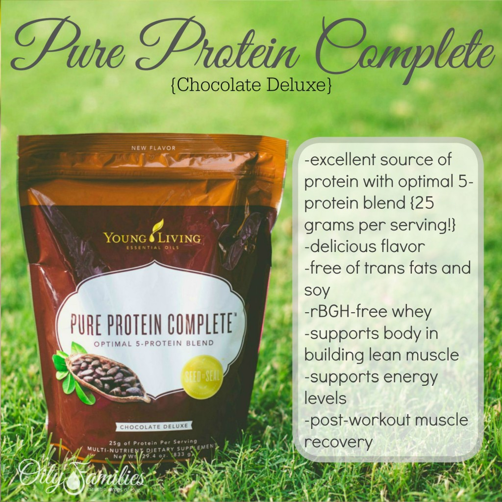 Pure Protein Chocolate + New Young Living Products from Convention + Oily Families YLEO Team