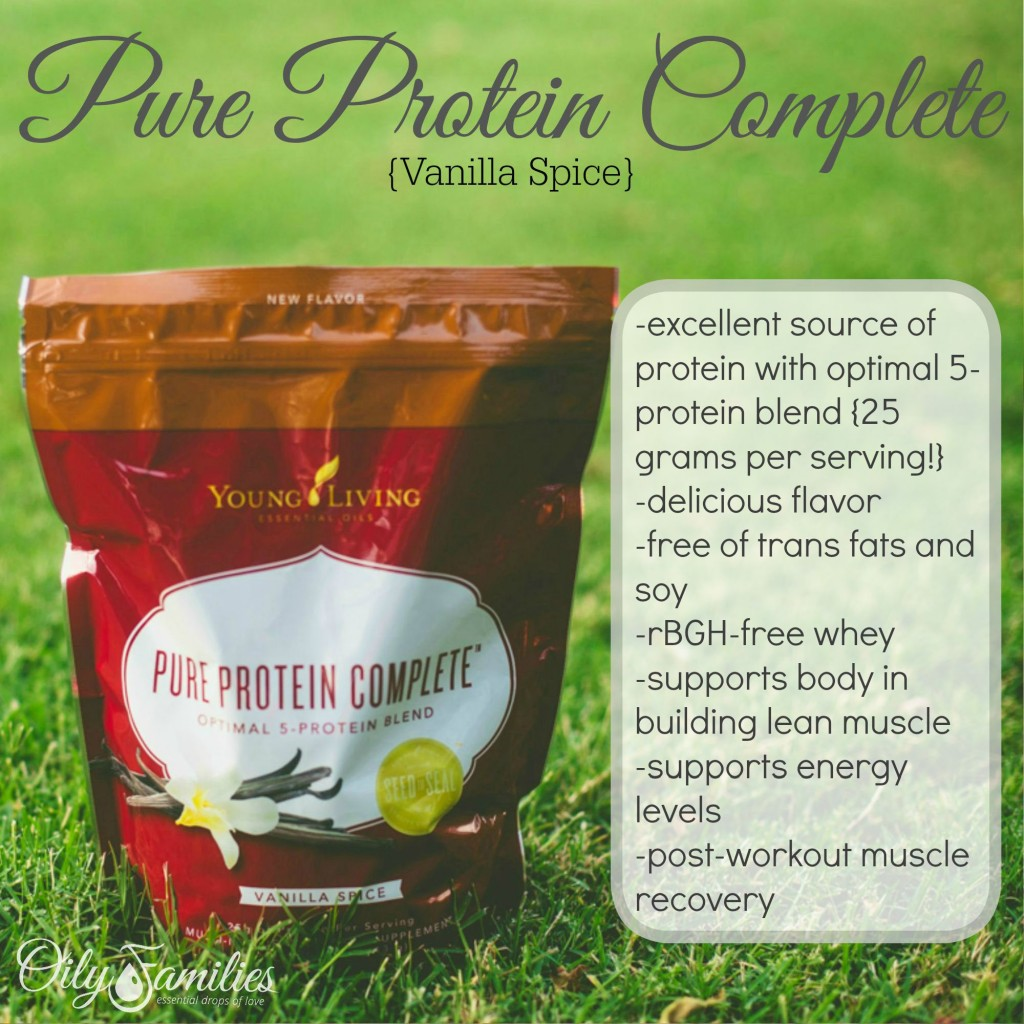 Pure Protein Complete Vanilla + New Young Living Products from Convention + Oily Families YLEO Team