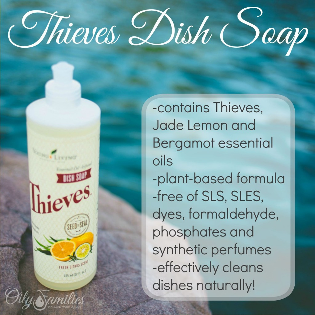Thieves Dish Soap + New Young Living Products from Convention + Oily Families YLEO Team