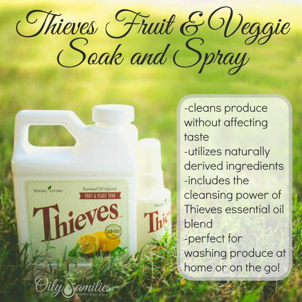 Thieves Fruit & Veggie Wash + New Young Living Products from Convention + Oily Families YLEO Team