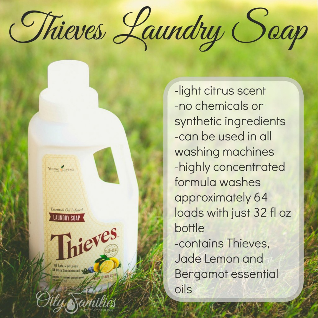 Thieves Laundry Soap + New Young Living Products from Convention + Oily Families YLEO Team
