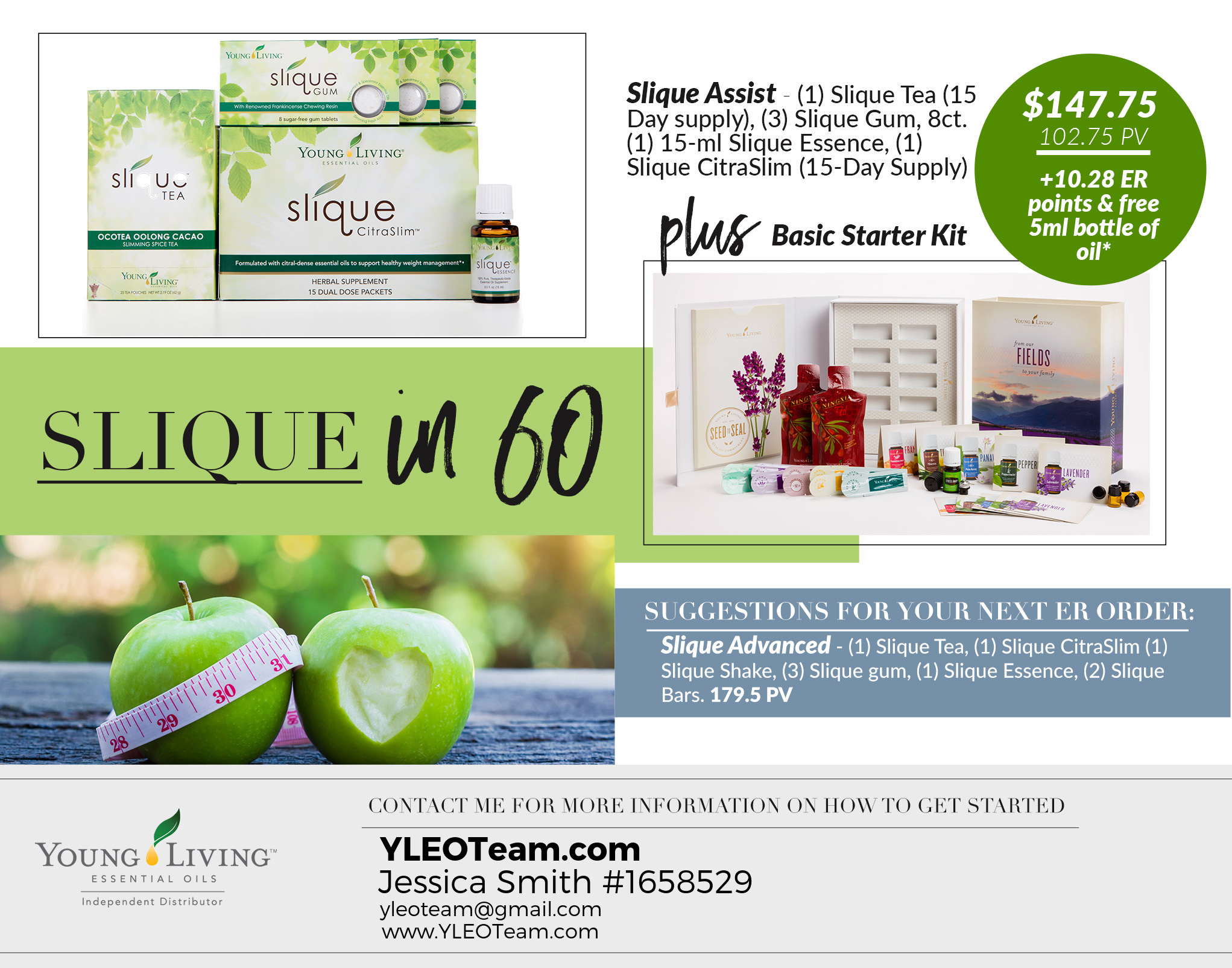 Slique in 60 Healthy Weight Management Order Young Living Essential Oils Oily Familes